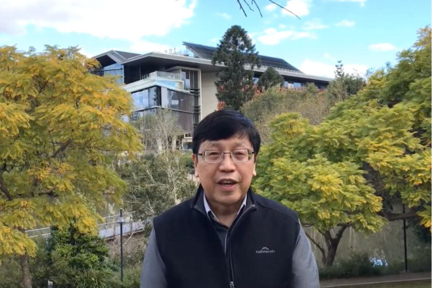 Science Week 2020 interview with Chien Ming Wang